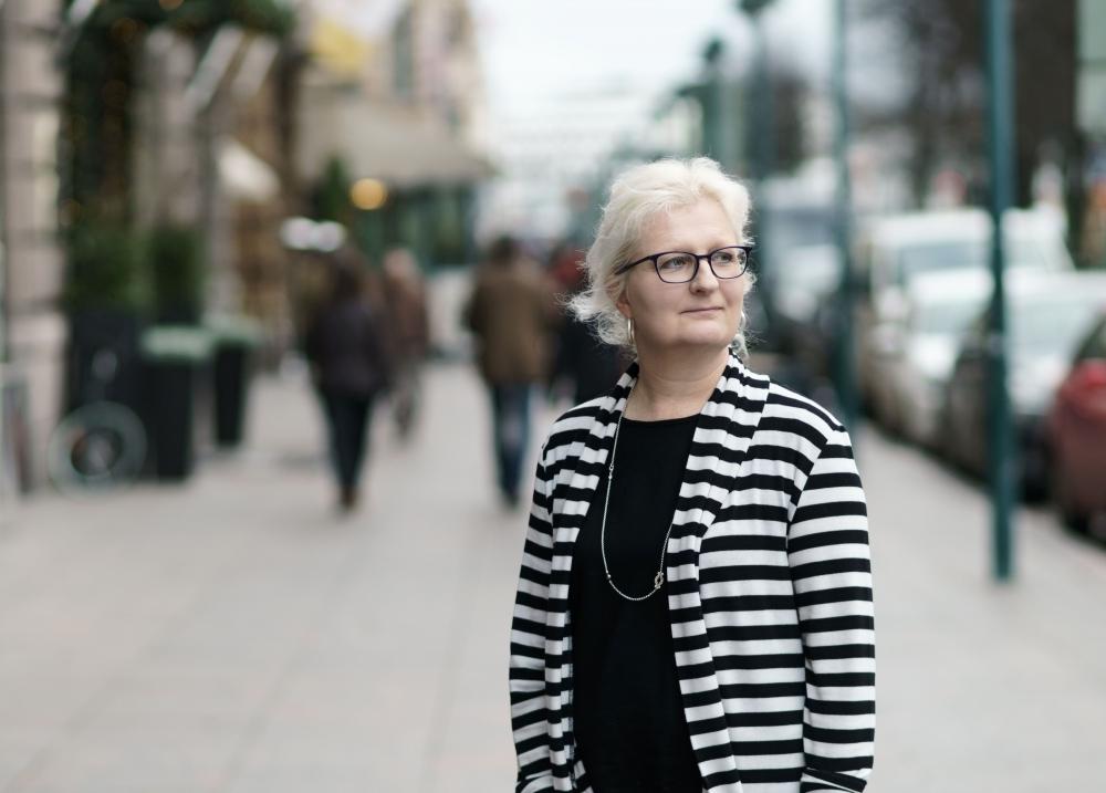 Jaana Paanetoja tuntee hyvin pamilaiset luottamusmiehet. Kuva: Jukka Rapo
