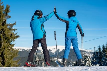 Lokala avtal gjorda i de största skidcentren