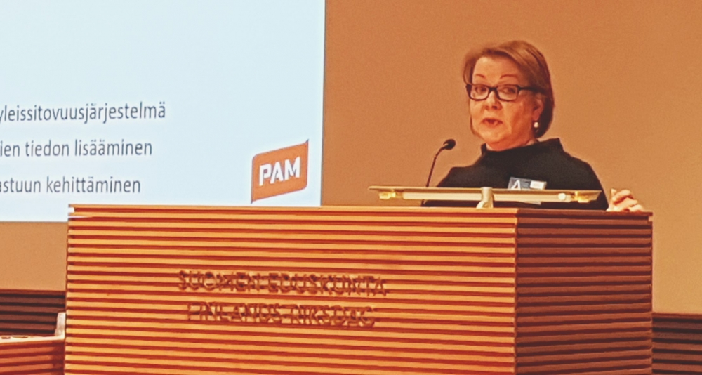 Speaking at the Parliament of Finland on Wednesday, Jaana Ylitalo called for more effective regulation.