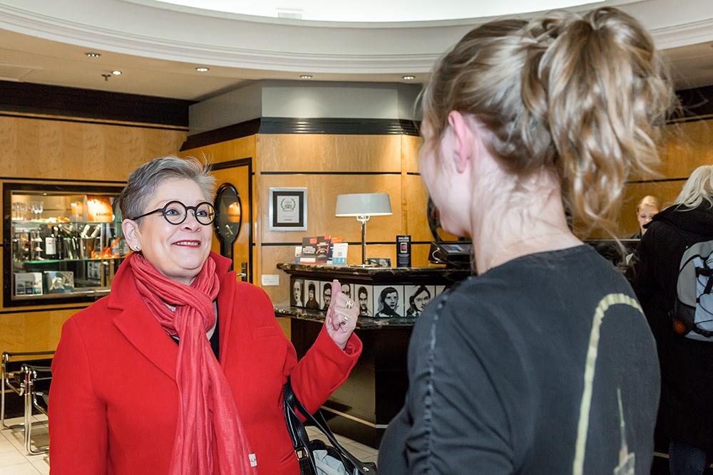 PAMin Ann Selin tapasi eilen työstään innostuneita työntekijöitä Helsingissä: