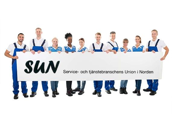 Bekanta dig med Service- och tjänstebranschens Union i Norden, SUN:s nya webbplats. Ursprunglig bild: GettyImages.