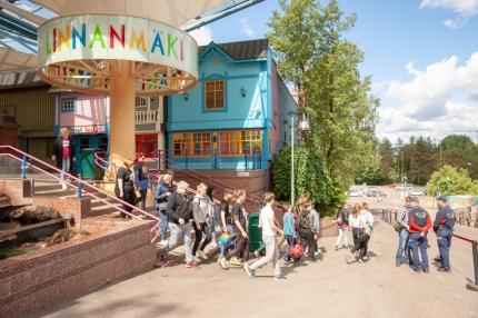 Linnanmäki kielsi PAMin kierroksen: Työntekijöille ei saanut jakaa esitteitä