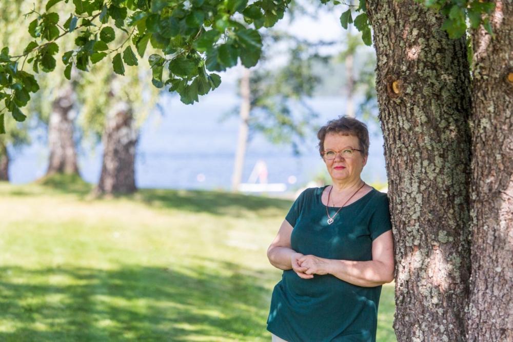 Ammattiosastojen puheenjohtajapäivät ovat Virpi Torniaisen mielestä antoisia tapahtumia, jotka antavat omalle työlle jatkuvuutta. Kuva: Arttu Muukkonen.