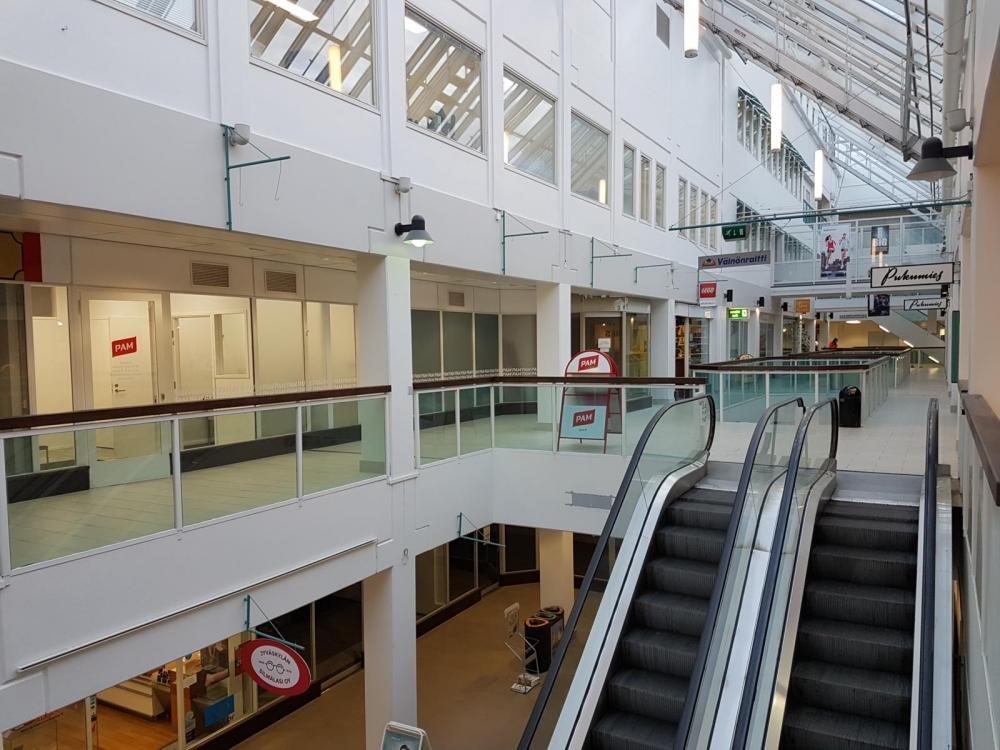 Jyväskylän aluetoimisto sijaitsee nyt Torikeskuksen 2. kerroksessa. Kuva: Jani Korhonen.