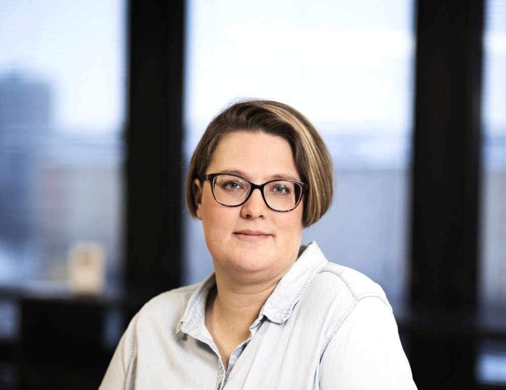 """Legislation which reacts sluggishly to the digitalisation of services and the revolution of work may at worst force a segment of the workforce outside fair terms of employment,"" says Suvi Vilches, PAM legal counsel. Photo: Eeva Anundi"
