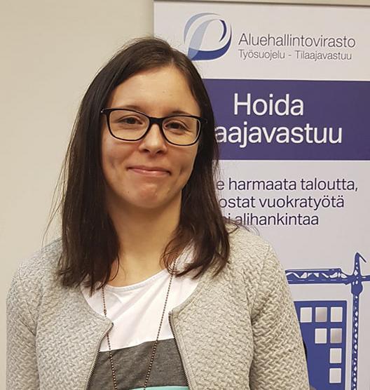 Etelä-Suomen aluehallintoviraston tarkastaja Niina Ahonen.
