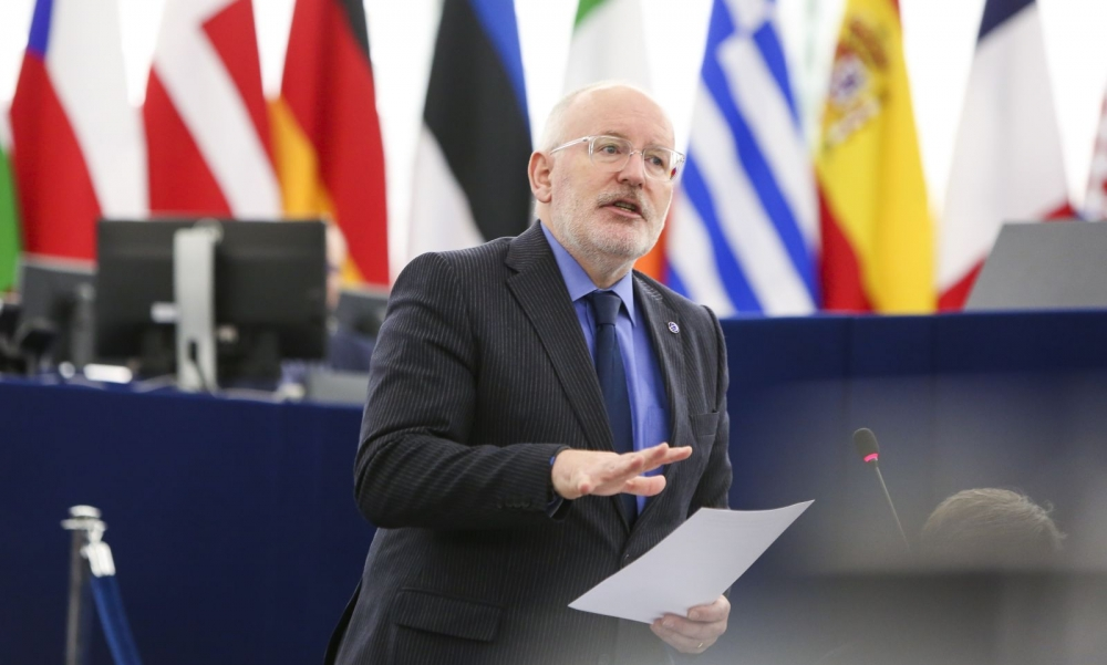 Frans Timmermans. Kuva: Euroopan parlamentti / Fred Marvaux