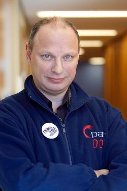 Keskon pääluottamusmies Petri Järvinen.