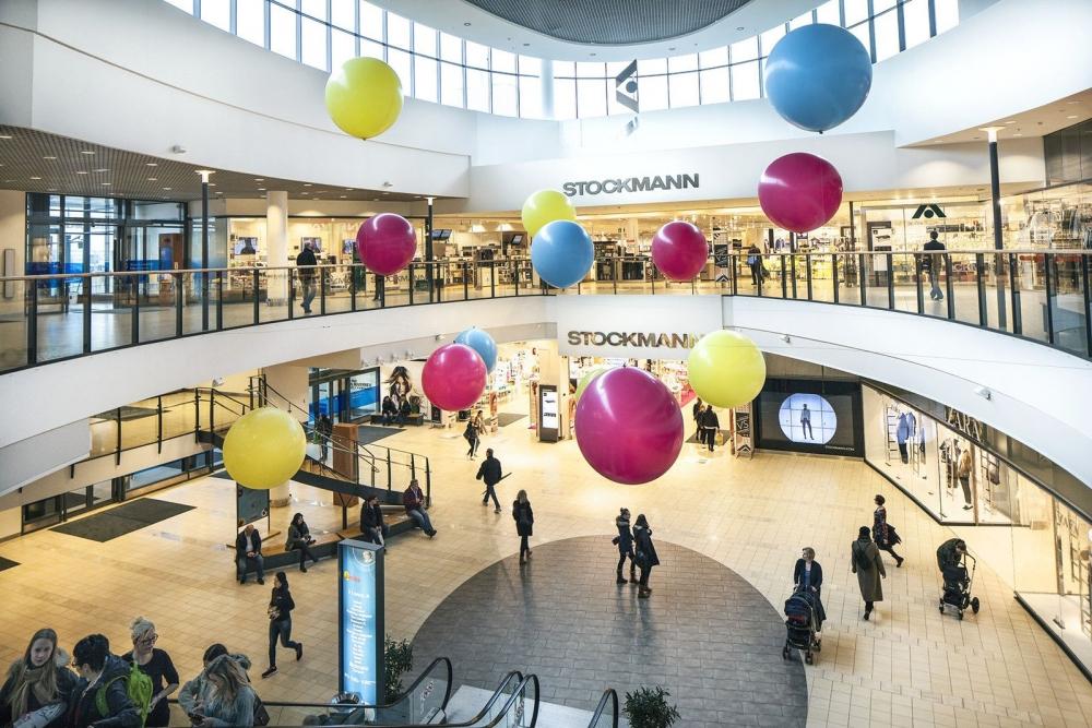 Stockmannin tavaratalo Vantaan Jumbo-kauppakeskuksessa. Kuva: Stockmann