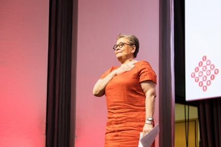 Puheenjohtajan pestin jättävä Ann Selin on ylpeä yhteisistä saavutuksista
