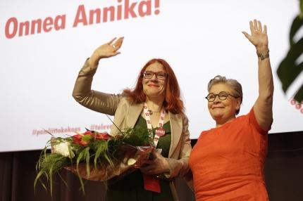 Annika Rönni-Sällisestä PAMin puheenjohtaja