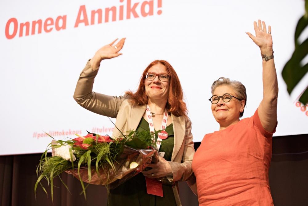 Annika came and Ann left. Photo: Eeva Anundi