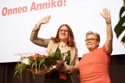 Annika Rönni-Sällinen elected PAM's new President