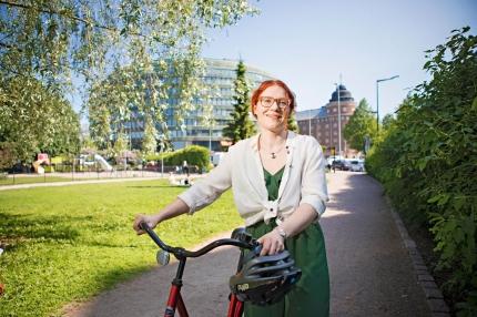 Medlem för 26 år sedan – nu ordförande: Annika Rönni-Sällinen återvände hem