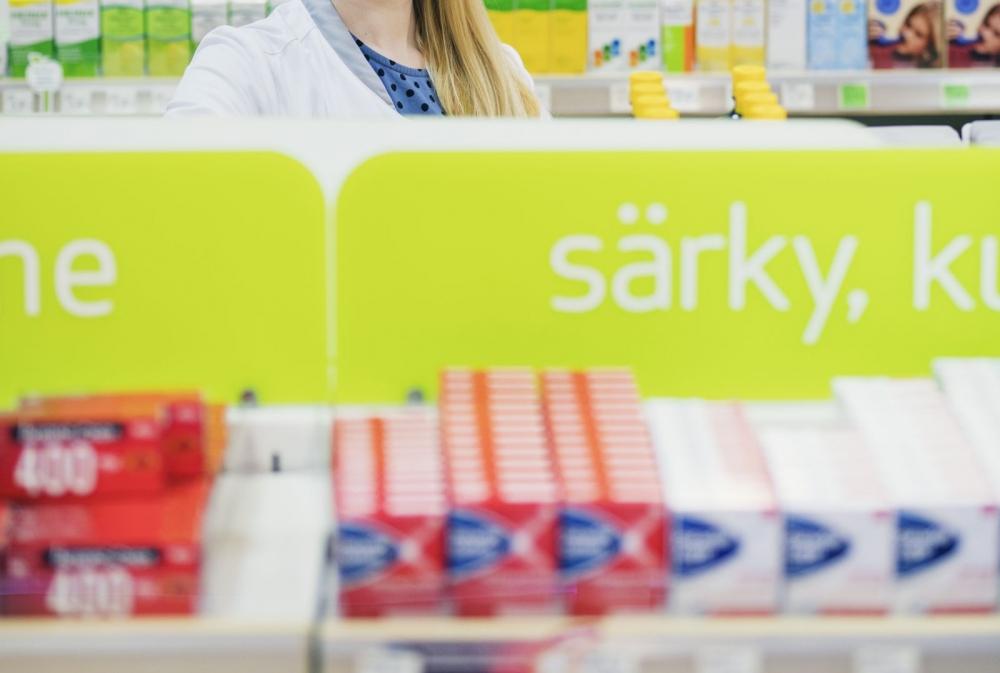 Oriola toimittaa lääkkeitä apteekkeihin Suomessa ja Ruotsissa. Kuva: PAMin arkisto/Lauri Rotko