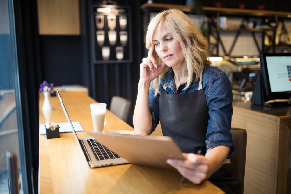 The unemployment fund would prefer part-time workers to make their applications for adjusted allowances online rather than by post. Image: Gettyimages