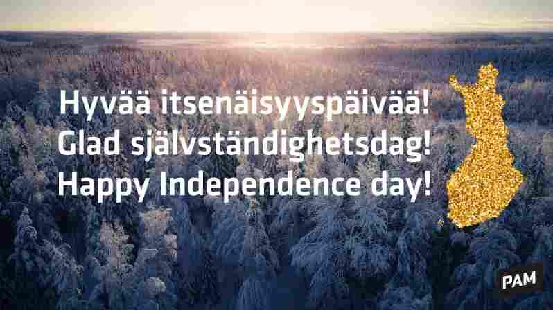 Puhelinpalvelumme ovat suljettuina perjantaina 6.12. – hyvää itsenäisyyspäivää!