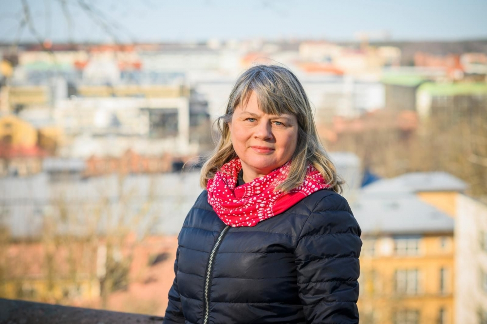 Professor Niina Nummela has studied corporate acquisitions and corporate cultures. Photo: Veli-Matti Väärä