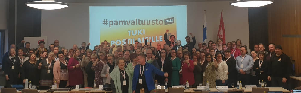 PAMin valtuusto tukee Postin työntekijöitä taistelussaan työehtojen heikennyksiä vastaan.