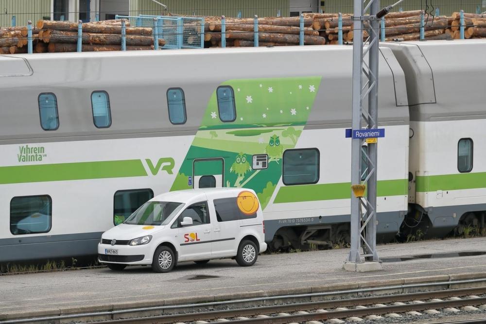 Aliurakoitsijan vaihtuminen toi junasiivoojille yt-neuvottelut. Kuva: Lehtikuva