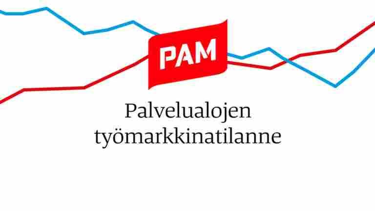 Palvelualojen työpaikkatilanne yhdellä vilkaisulla - Duunitori ja PAM avasivat työpaikkojen markkinatietopalvelun