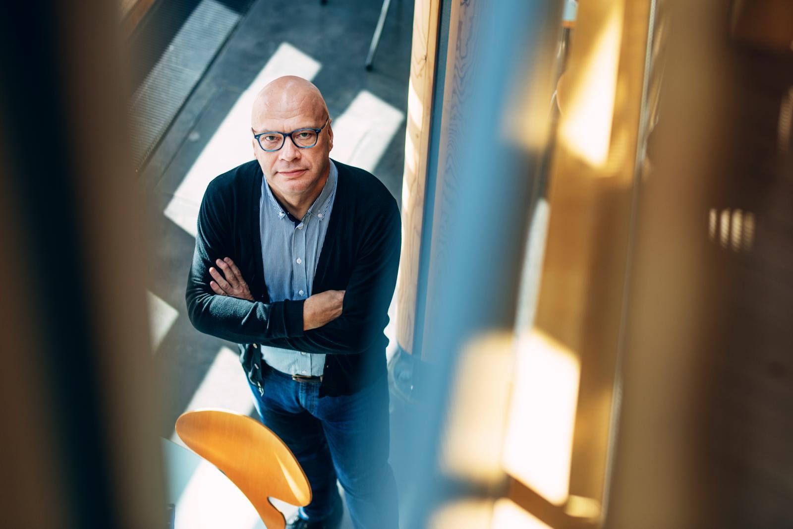 Timo Tiikkaja on Compass Group FS Finland Oy:n alueellinen pääluottamusmies ja PAMin hallituksen jäsen. Kuva: Lauri Rotko