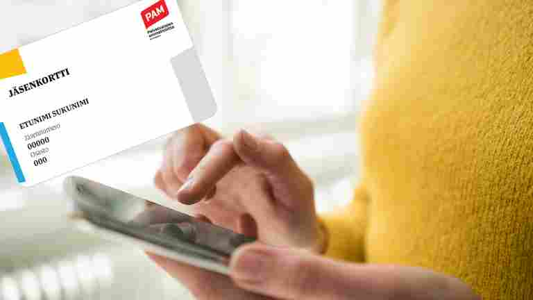 PAMin jäsenkortti löytyy jatkossa uudesta asiointipalvelusta
