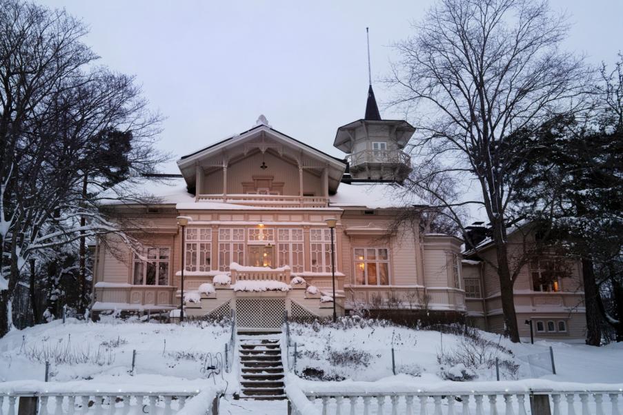 Kesäranta in Helsinki's Meilahti has become well known as the prime minister's official residence.Photo: Heli Sorjonen