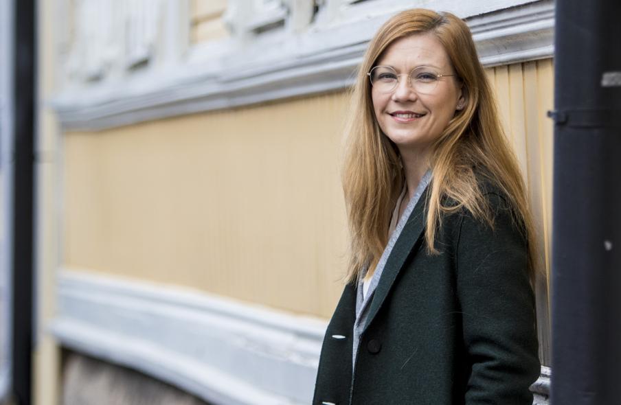 Kirsi-Maria Halosen mukaan kuntavaaleissa valituilla valtuutetuilla on sanansa sanottavana kunnan julkisten hankintojen linjasta. Kuva: Seppo Sirkka