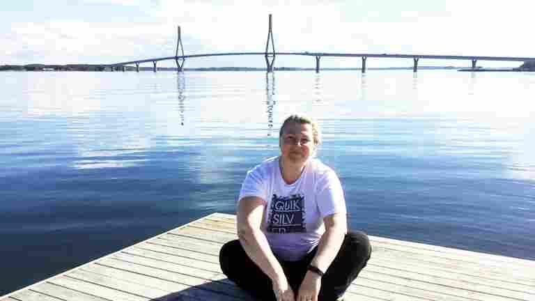 New PAM members Natalia Laitinen enjoys her work as a hotel housekeeper