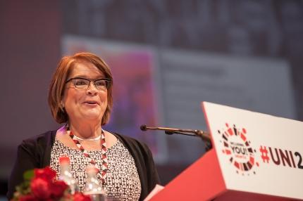 UNIn puheenjohtaja Ann Selin: Ihmisarvoinen työ on jokaisen oikeus