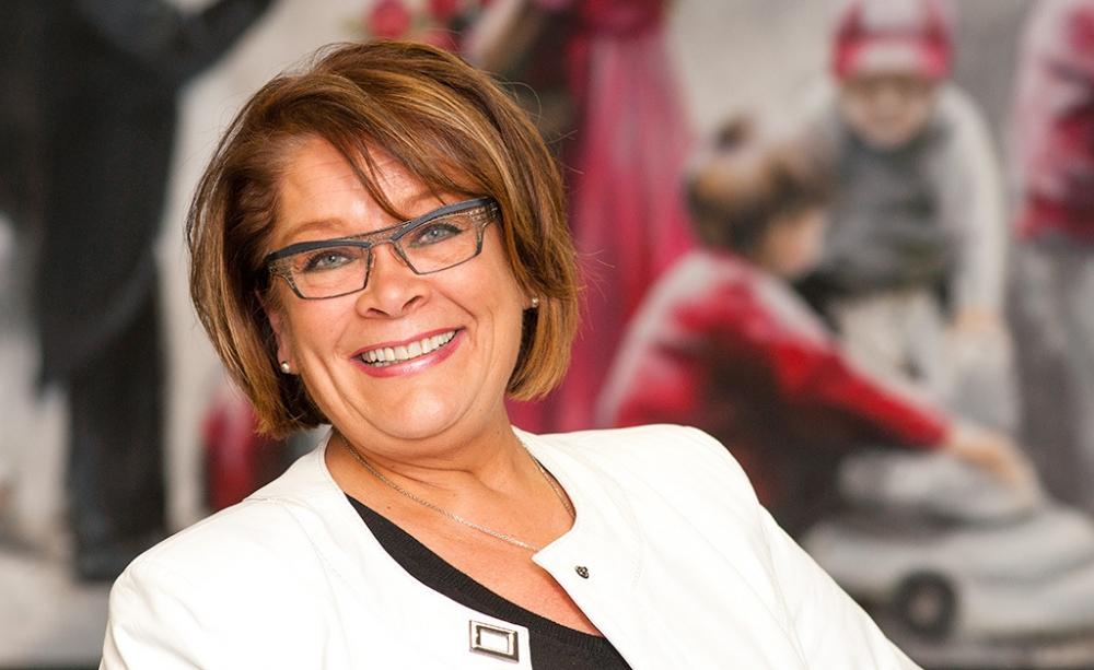 PAMin puheenjohtaja Ann Selin toivoo keskusjärjestöjen yhteistyön tiivistyvän jäsenten hyväksi.