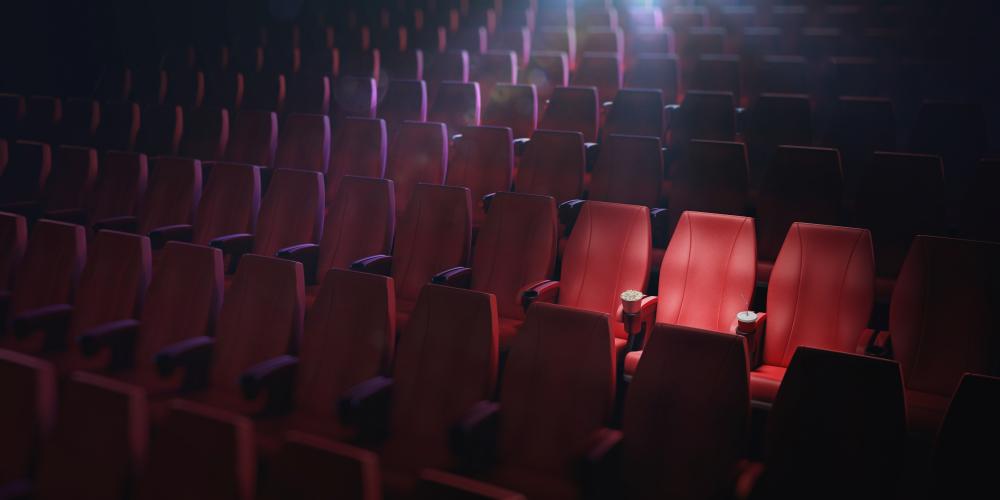 Elokuvateatterien työntekijöillä ei ole voimassaolevaa työehtosopimusta. Kuva: iStockphoto