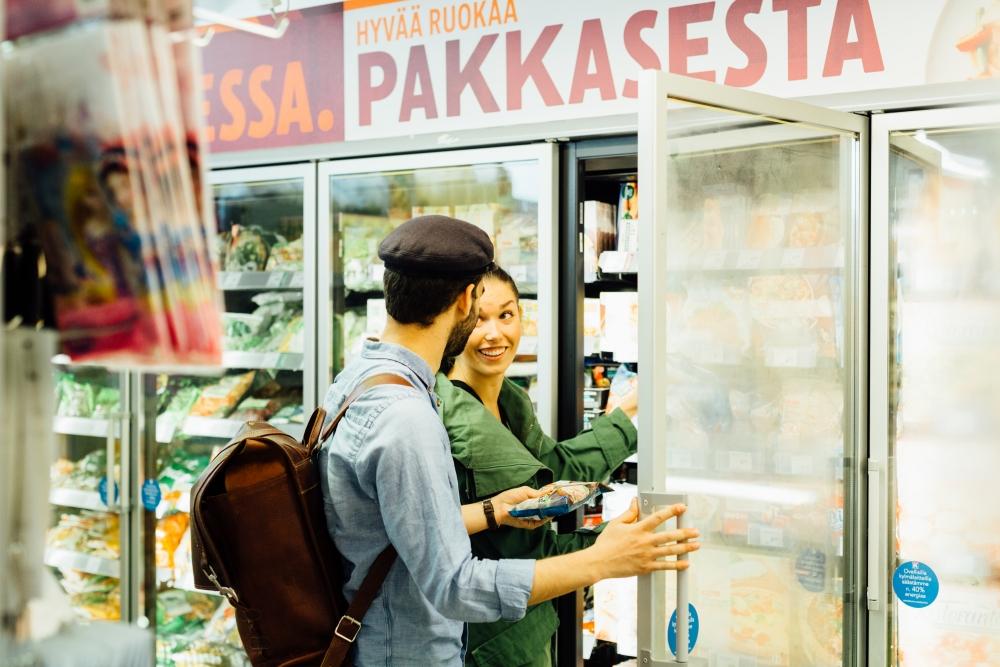 Keskon vähennystarpeisiin vaikuttaa muun muassa asiakkaiden ostokäyttäytyminen. Kuva: Kesko / Niklas Sandström