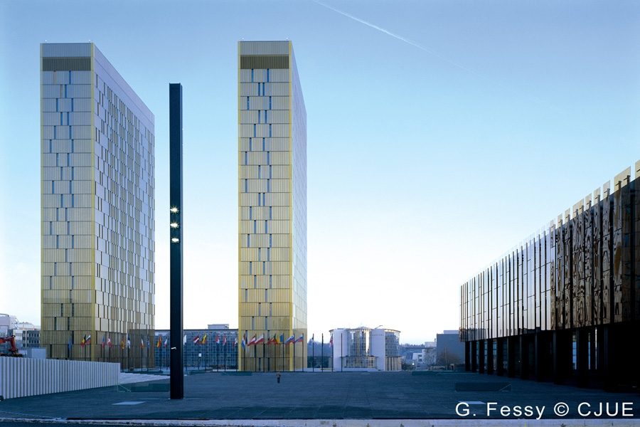 Luxemburgissa sijaitseva EU-tuomioistuin otti ensi kertaa kantaa vuokratyödirektiiviin. Kuva: Euroopan unionin tuomioistuin