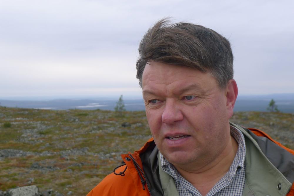 Ilmatieteenlaitoksen pääjohtaja Petteri Taalaksen mukaan ilmastonmuutos ei ihan lähivuosikymmeninä tuhoa Lapin talvea. Kuva: Lehtikuva/Stefan Holmström