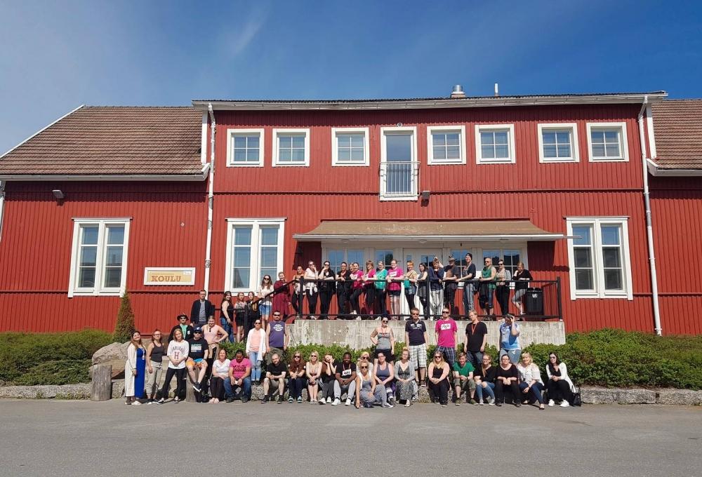 Nuorten ja opiskelijoiden kesäpäivät toivat innokkaat osallistujat Himokselle.
