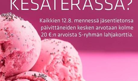 Jäsentietojen päivittäminen on helppoa! Mene osoitteeseen pam.fi/asiointi ja kirjaudu palveluun. Kaikkien 12.8. mennessä jäsentietonsa, mm. puhelinnumeron tai työnantajatietojen päivittäneiden kesken arvotaan 3 kpl 20 €:n arvoista S-ryhmän lahjakorttia. #vainpamjutut #töissä #palveluala #duunissa #työpaikka #igersfinland #kesä2018 #kesäduuni #kesätyö #kesähessu #voitvoittaa #kilpailu #päivitys