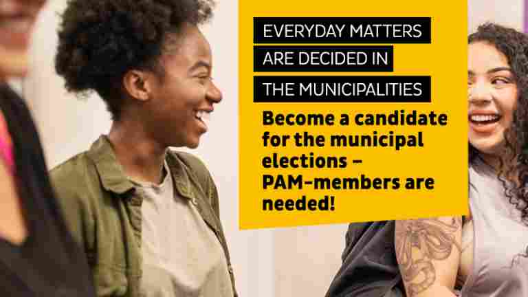 Hundreds of PAM members standing in the municipal elections – check out their profile!