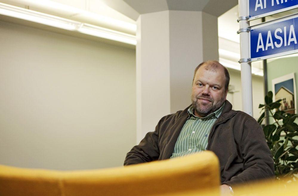 SASKin toiminnanjohtaja Janne Ronkainen pitää tärkeänä, että ay-liike seuraa jatkossakin yritysten toimintaa kehitysmaissa. Kuva: Pam-lehden arkisto / Terhi Korhonen
