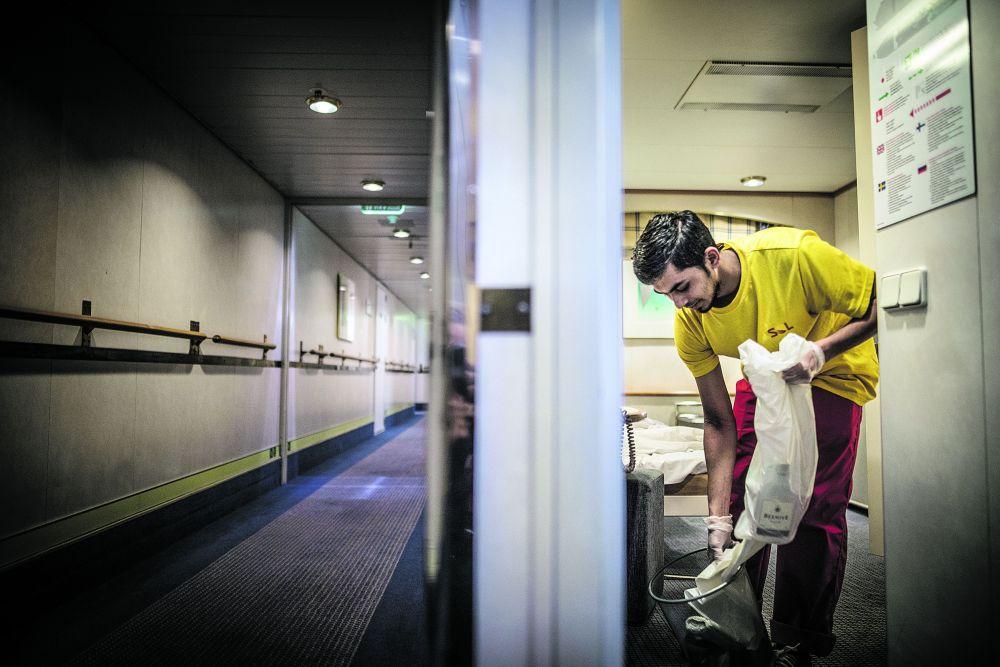 Siivooja palkka