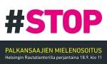 Huomenna sanotaan STOP!