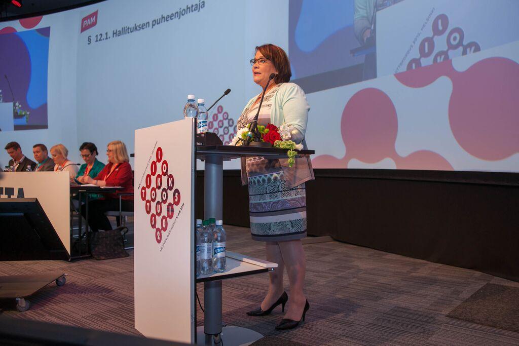 Ann Selin jatkaa PAMin puheenjohtajana