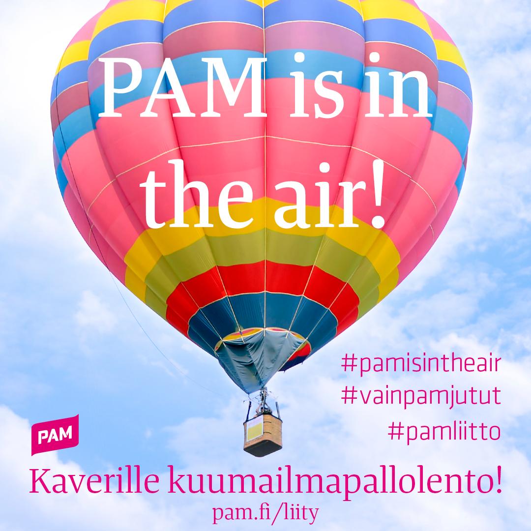 PAM is in the air 7.-8.6.2017 – pamilaisia kohtaamisia Suomen suvessa ja somessa