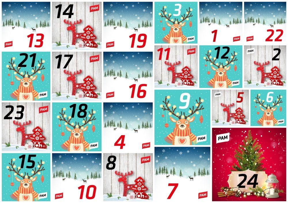 joulukalenteri 2018 nuorille PAMin nuorten joulukalenteri antaa vinkkejä työhyvinvointiin  joulukalenteri 2018 nuorille