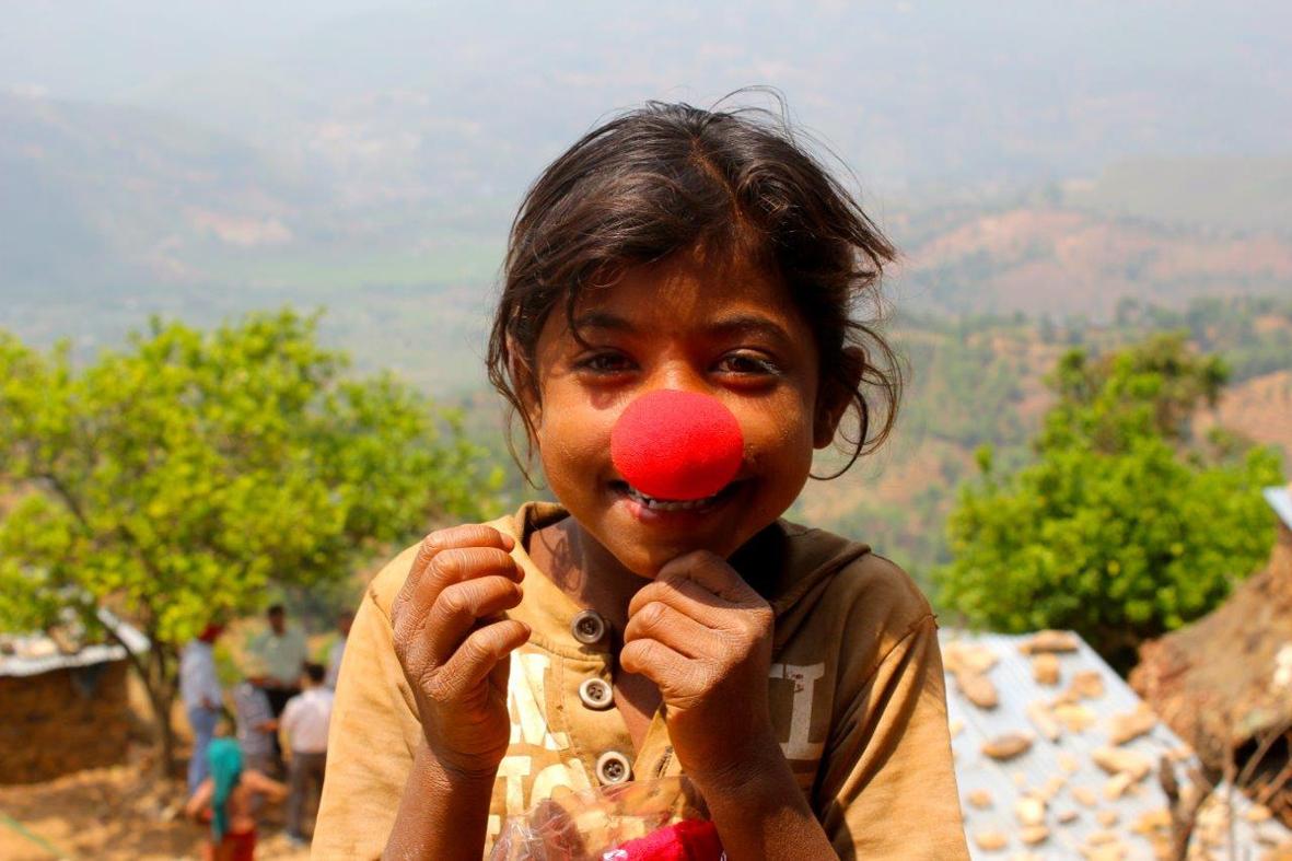 Nenäpäivänä autetaan köyhien maiden lapsia
