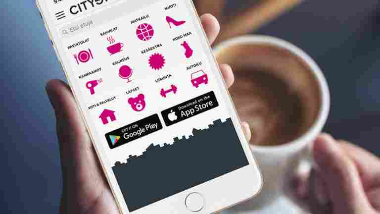 The popular membership benefit continues next year: Cityshoppari 2020 mobile app free of charge