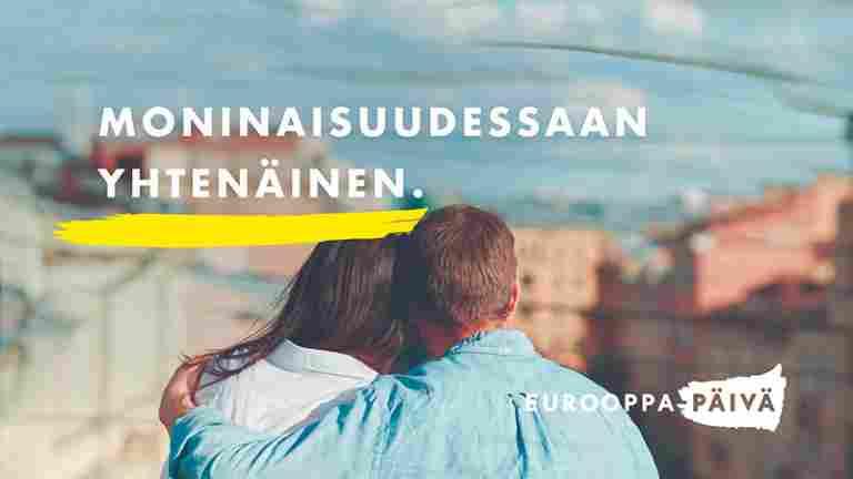 Eurooppa-päivää vietetään lauantaina 9.5. virtuaalisesti