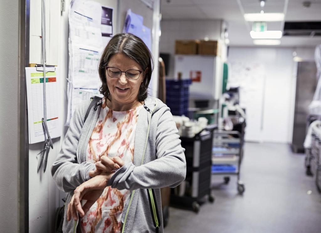 Työntekijät kaipaavat Jäntiltä apua eniten työvuoroihin liittyvissä kysymyksissä.  Ⓒ ©Kai Tirkkonen